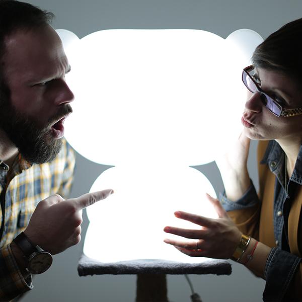 light darman - JB et Claire - studio darman